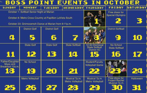 bosspoint calendar