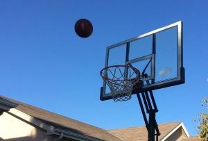 Driveway Basketball Hoop, photo by Maddie Mingo