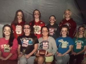 2013 Freshman Retreat group led by Julia Tatten, '15, and Lizzy VanDyke, '15.