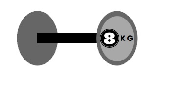 dumbell graphic