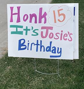 web josie 15 honk