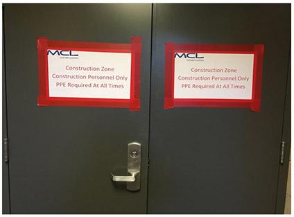 construction doors
